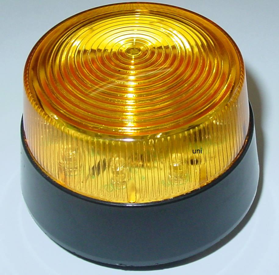 stroboskop blitzer orange gelb 12vdc led blitzer flash. Black Bedroom Furniture Sets. Home Design Ideas